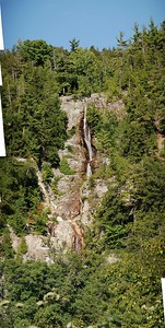 Roaring Brook Falls - Panorama (clipped)