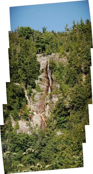 Roaring Brook Falls - Panorama (stitched)