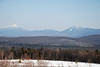 Whiteface and Moose Mountain from Harrietstown Hill, 3/7/9