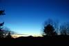Ester & Whiteface Mountains at sunrise, Cedar Eden, 3/9/10
