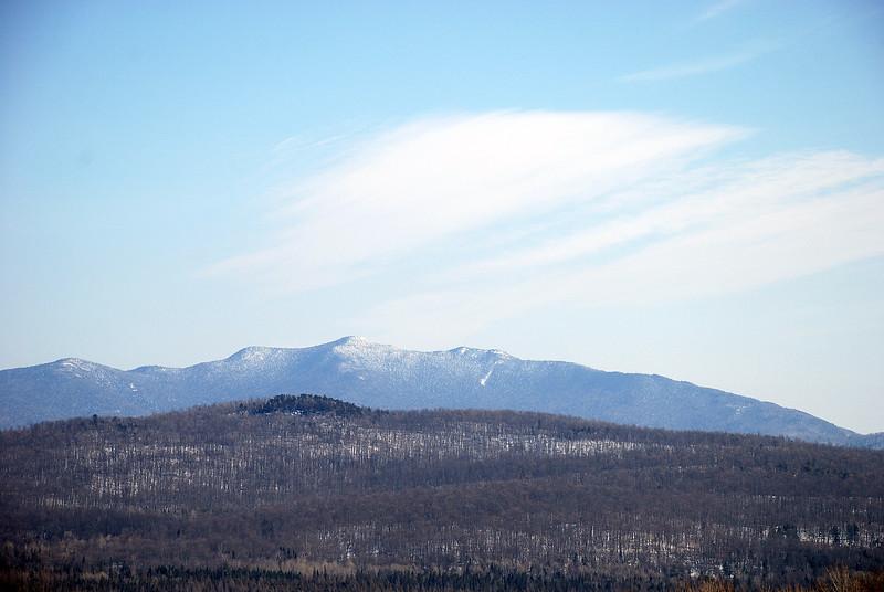 McKenzie Mountain from Harrietstown Hill, 3/7/9