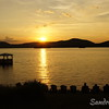 Sunset on Fourth Lake<br /> Inlet, NY