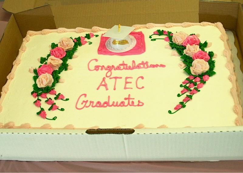 ATEC 2008 Graduation Service Cake