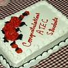 2007 Graduation Service Cake