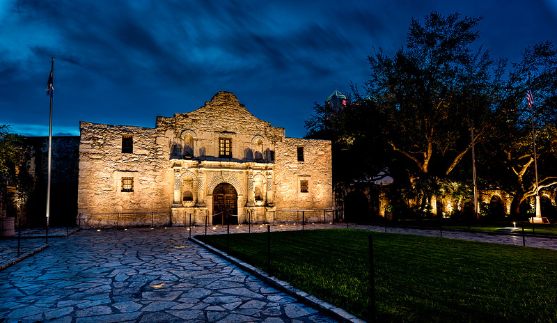 Storm Brewing Over The Alamo