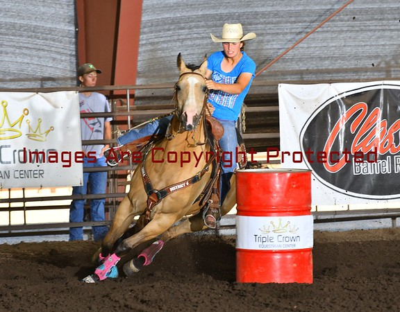 The All American Barrel Race July 1& 2 -2017