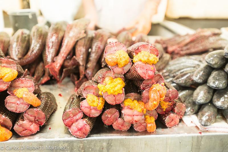 Cascudo Roe  - Fish Market Manaus