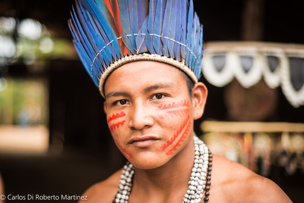 Tatuyo Man Upper Negro River
