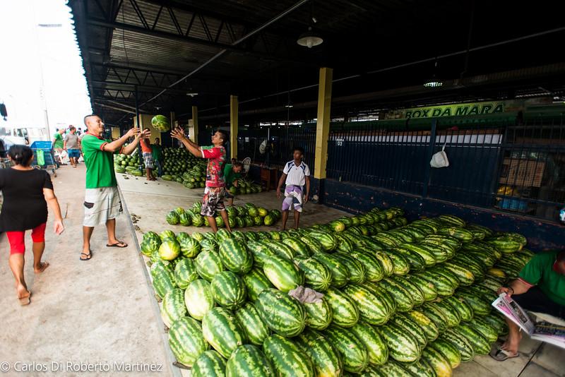 Watermelon City Market Manaus