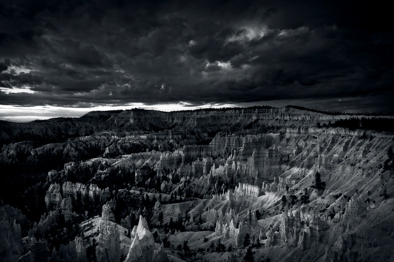 Storm Clouds Over Bryce Canyou