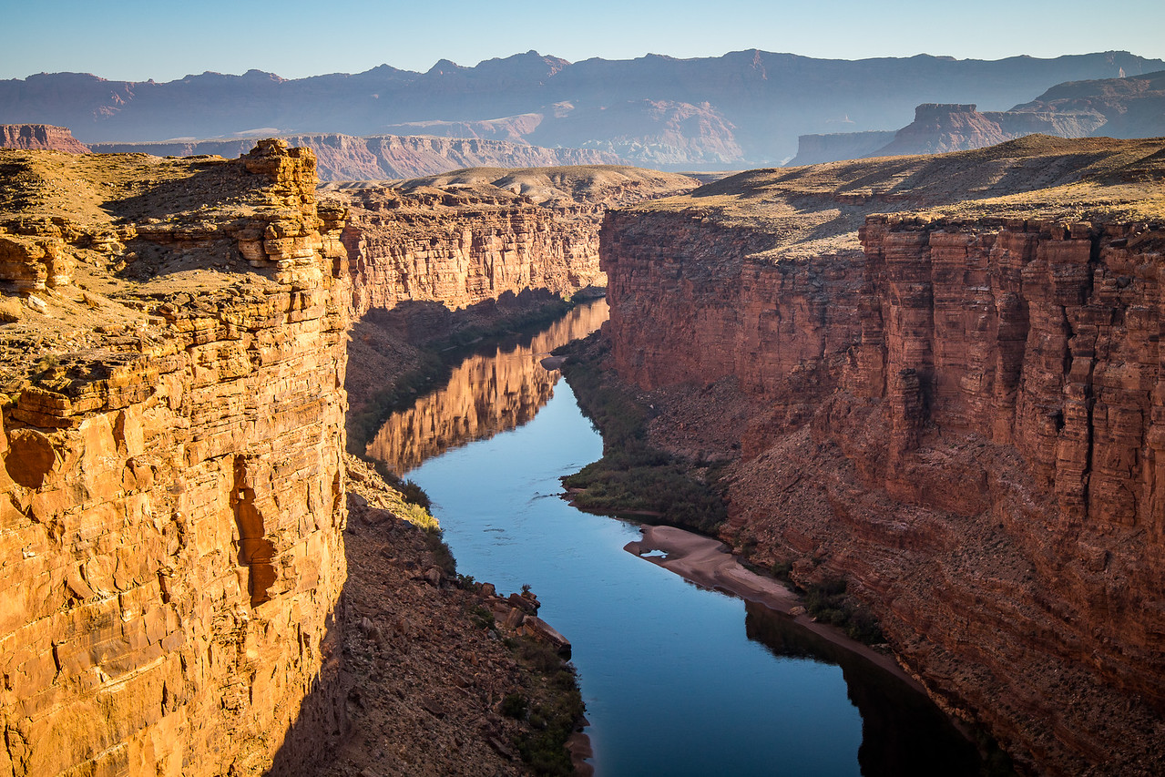 Marble Canyon, the Beginning of the Grand Canyon