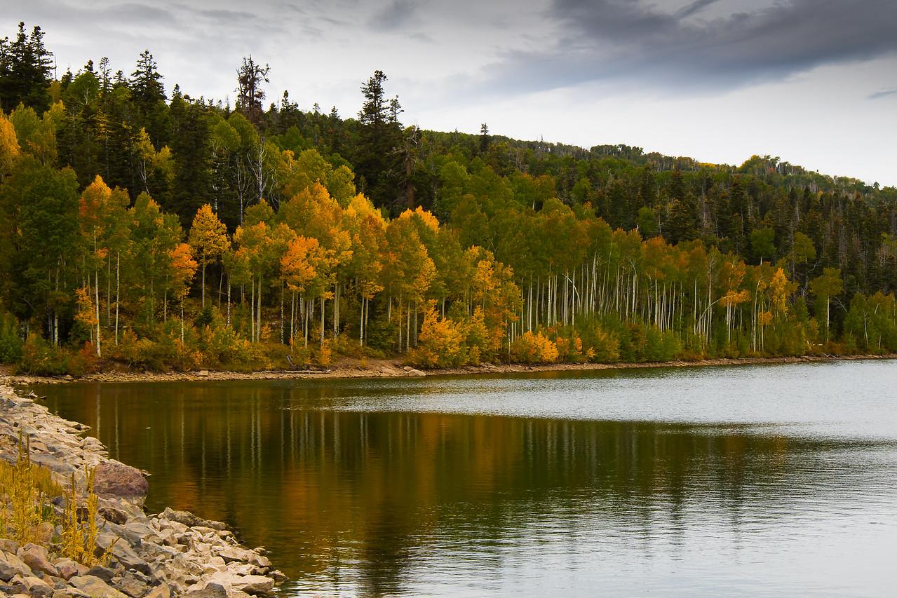 Fall at Kolob Reservoir, near Zion National Park