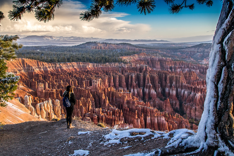 Enjoying a Bryce Canyon Sunrise