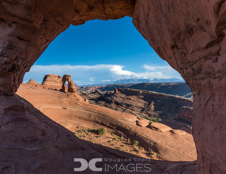 The View From Frame Arch