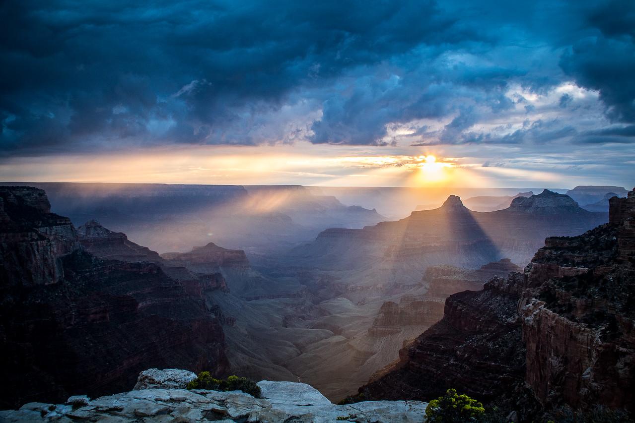 Sunset at Point Royal, Grand Canyon National Park