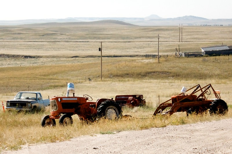 Farm equipment and other treasures<br /> Eastern Wyoming