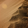 Foot steps erased by the wind<br /> Great Sand Dunes, CO