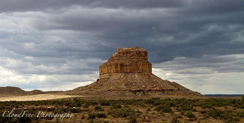 Fajada Butte - Chaco Canyon