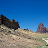 The Winged Rock - Tsé Bit'A'í<br /> Shiprock near Shiprock, NM