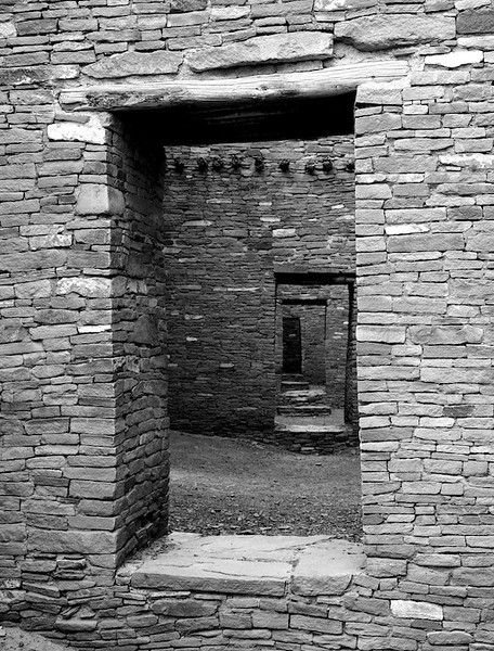 Doorways in Pueblo Bonito