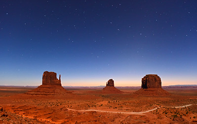 Early Morning at Monument Valley