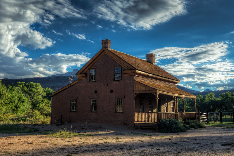 Grafton Ghost Town Schoolhouse
