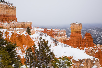 How Bryce changes with even a glimmer of light through the clouds...
