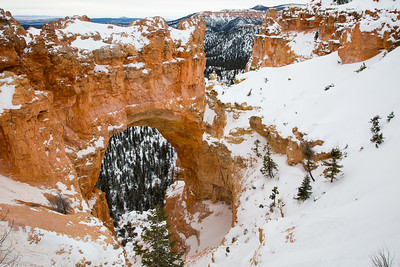 One of Bryce Canyon's famous arches...