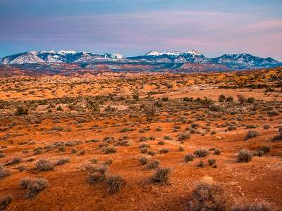 Laval Mountains at Arches