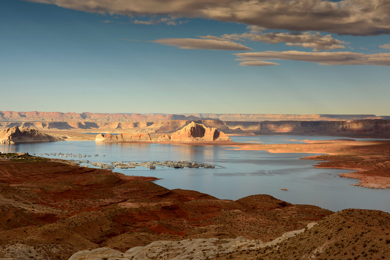 Boats In Lake Powell