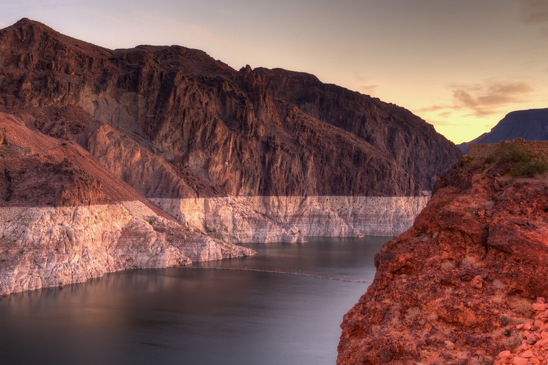 Canyon Of the Hoover Dam