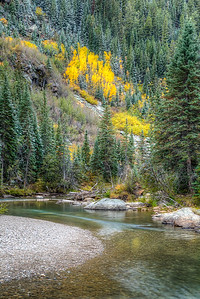 Fall on the Roaring Fork River