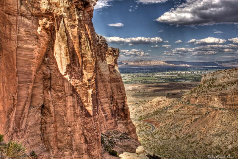 Rim Road - Colorado National Mounment
