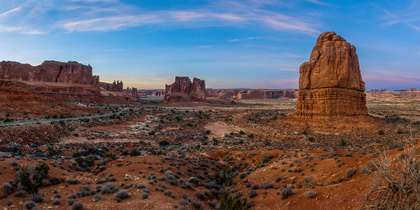 Arches after Sunset