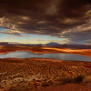 Storm Clouds Over Lake Powell