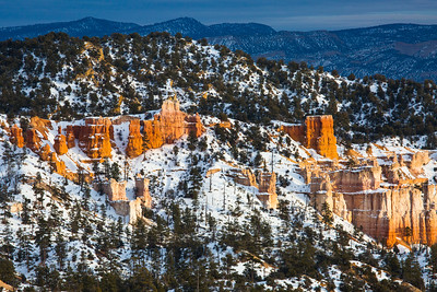 More afternoon late in Bryce Canyon