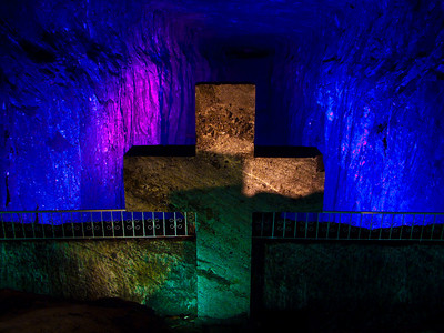 Catedral de Sal (Salt Cathedral) in Zipaquira