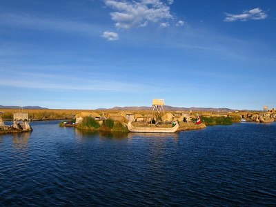 Puno, floating islands