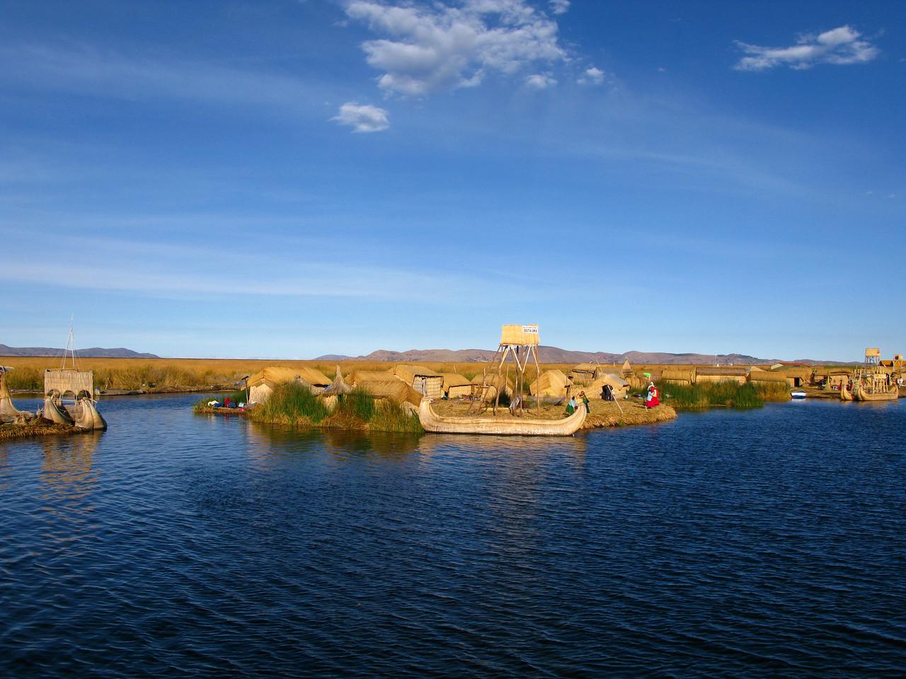Puno, floating islands