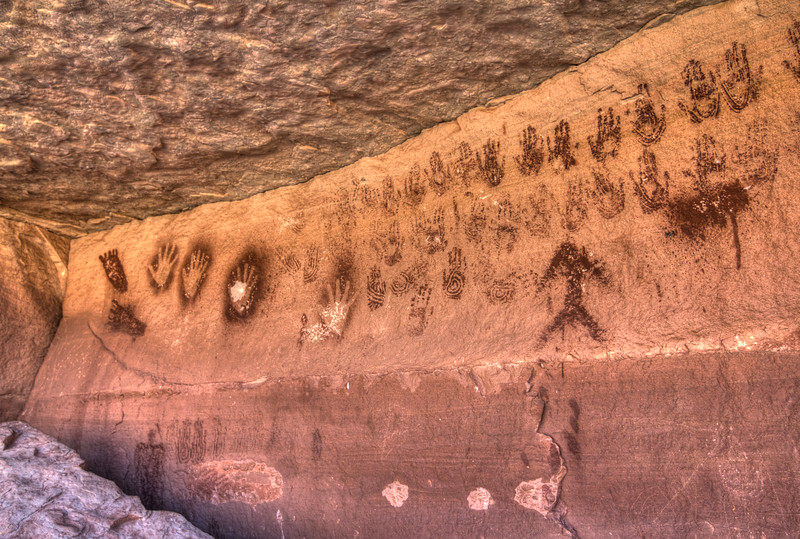 Hands Pictographs
