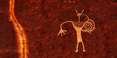 Warrior Petroglyph