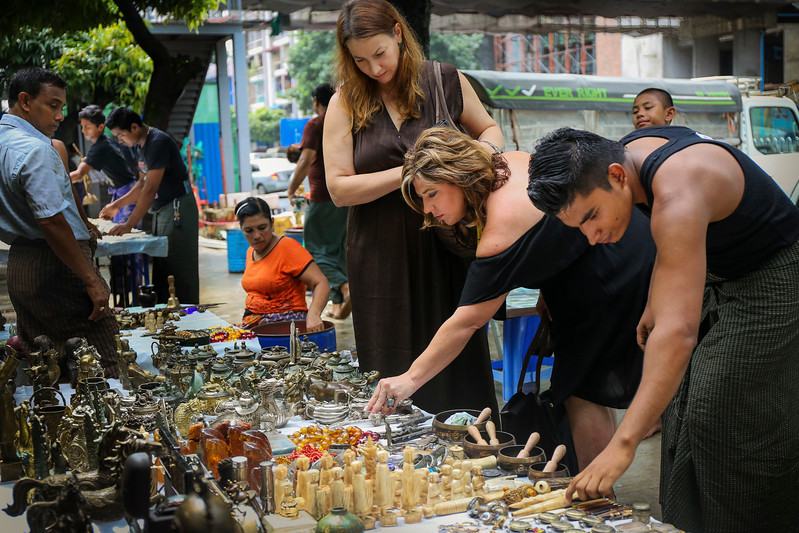 Yangon-Antiques sourcing with Toma Clark Haines-Antiques Diva & Co-FILE071
