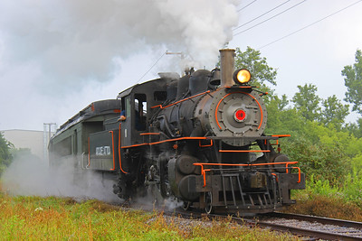 Arcade Railroad, Train, Steam, Locomotive, Orange