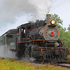 Arcade Railroad, Train, Steam, Locomotive, Orange