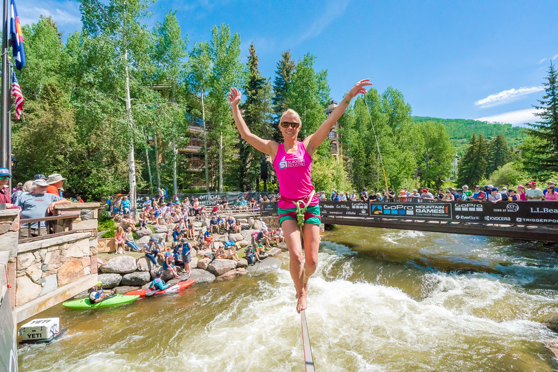The 2017 GoPro Mountain Games, Vail, Colorado