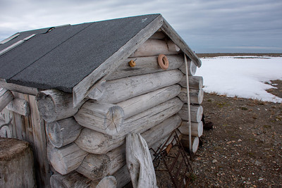 Trapper's Cabin:  Spitsbergen, the Arctic