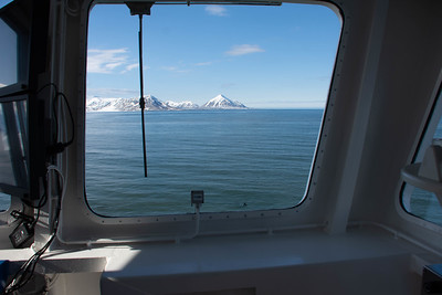 North of Norway:  From Bridge of the NG Explorer