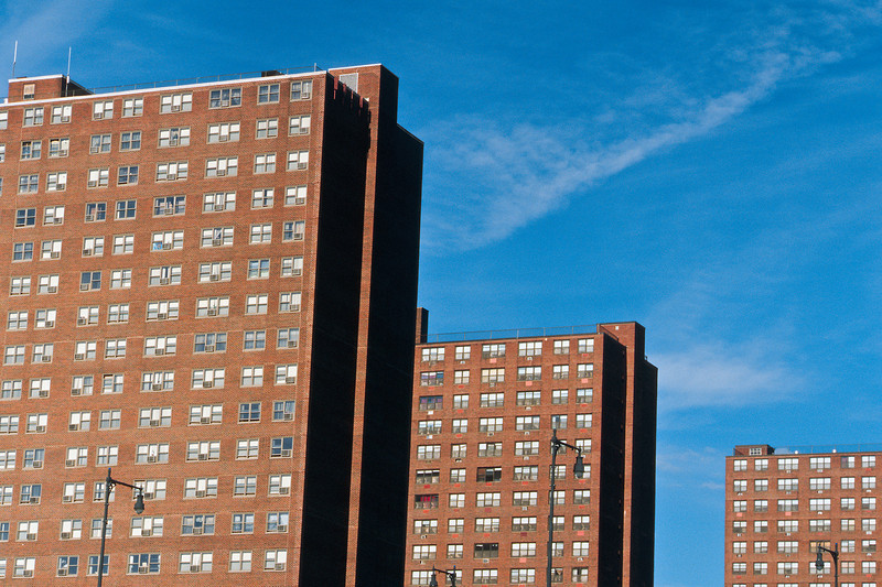 <b>Rindge Towers</b> - As a child, these towers always seemed to be the first things I noticed when driving into the city of Boston.  They are very large, and very out of place.