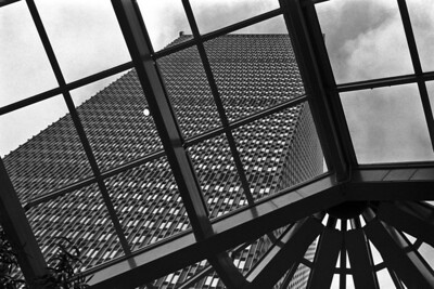 Prudential Building - The Prudential Building in Boston is another whose design take a lot of heat.  I, for one, love the design of the building with its huge mesh of steel, windows, and 60's-era grey paneling.
