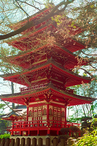 A Pagoda -- in San Francisco? - This can be found in the Japanese Tea Garden area of Golden Gate Park.